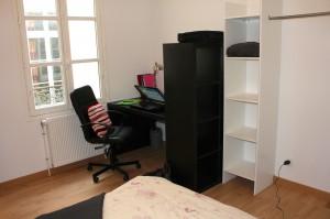 Résidence étudiante de France - Chambre meublée Compiègne N°3 bis