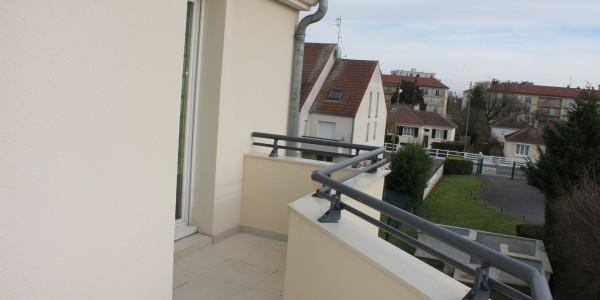 Mini Résidence ALLIANCE - Vue depuis le balcon